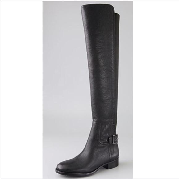 a9de4f3e319 Tory Burch Over the Knee leather boots OTK. M 5c3de45c04e33dc21132227f